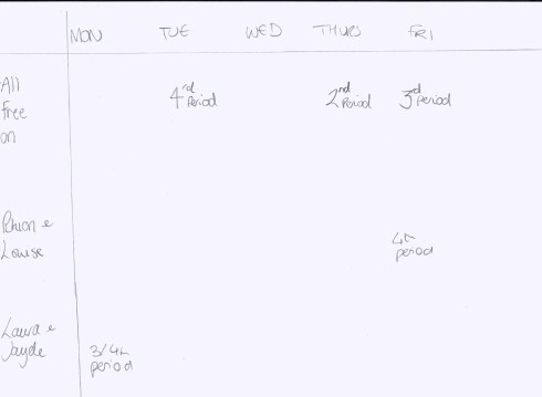 editing schedule media