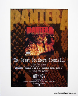 Pantera album advert